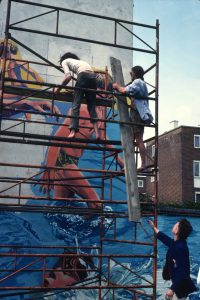 Brian Barnes, Wandsworth Mural Workshop - For Walls With ...